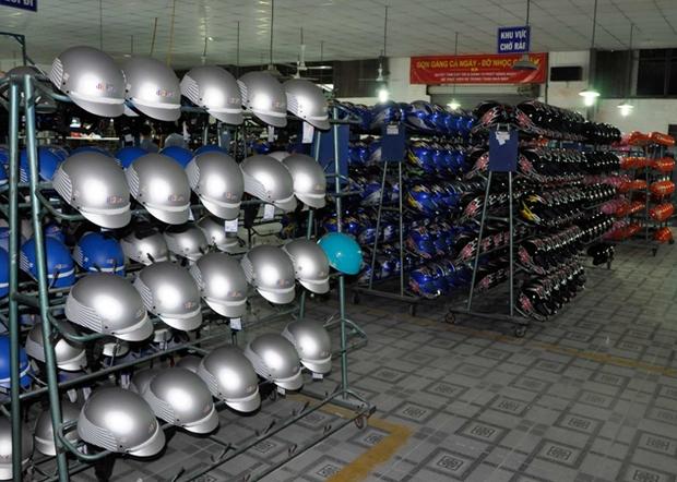 Xưởng sản xuất mũ bảo hiểm Linh Minh Anh